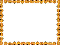 halloween borders clipart halloween pumpkins instant photo magnets