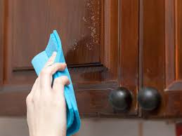 Wood Kitchen Cabinet Cleaner How To Clean Grease Off Wood Kitchen Cabinets Everdayentropy Com