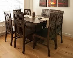 kotak dark square dining table furniture pinterest square