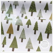 aliexpress com buy 50x150cm christmas tree cotton fabric cloth