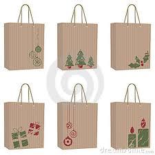 christmas paper bags grown paper bag for chrismas gift lucerito