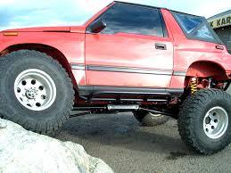 nerf car suzuki sidekick vitara x90 geo tracker nerf bars 2 door u2013 trail