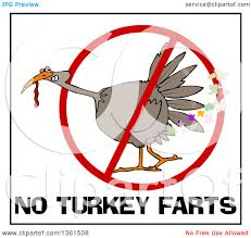 clipart of a brown thanksgiving turkey bird in a