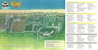 Punta Mita Mexico Map by Riu Palace Bavaro Travel By Bob