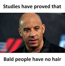 Memes About People - dopl3r com memes studies have proved that bald people have no hair