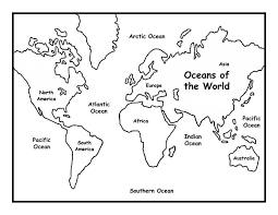 climate map coloring page world map coloring pages for kids 5 free printable coloring pages
