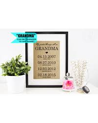 personalized granddaughter gifts bargains on gift personalized mothers day gift for