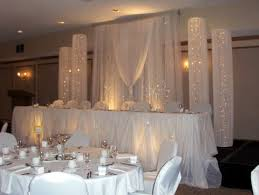 wedding backdrop ideas with columns table wedding backdrop 8 high x 8 w swag 4 w x 8 high