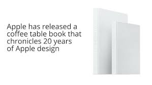 apple coffee table book apple coffee table book designed by apple in california costs 429