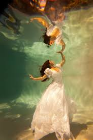 trash the dress incredible underwater trash the dress photos bridalguide
