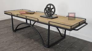 Chaise Industrielle En M C3 A9tal Par Henri Table Bois Et Metal Industriel Maison Design Bahbe Com