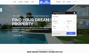 the freshest real estate and single property wordpress themes for