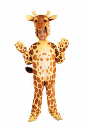 child plush giraffe costume