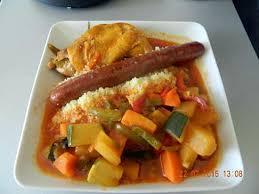 cuisiner couscous recette de couscous poulet merguez par mimine59