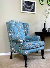 Wingback Chair Recliner Design Ideas Fabric Wing Chair Fabric Wing Chair Recliner Justinbradleyforsc