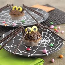 Halloween Chocolate Cake Recipe Chocolate Orange Spider Cupcakes Parenting
