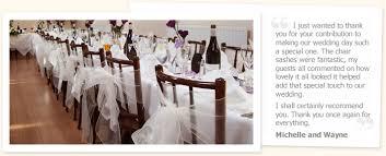 Chair Sashes For Weddings Chair Sash Hire For Weddings
