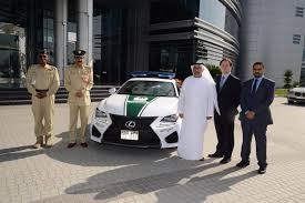 lexus dubai 2015 lexus rc f joins the dubai police force digital trends