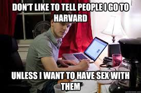 Douchebag Girlfriend Meme - harvard douchebag memes quickmeme