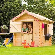 maisonnette de jardin enfant un jardin pour les enfants gamm vert