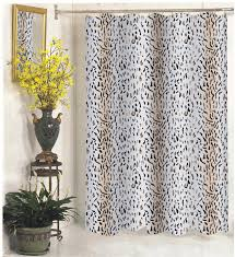 Large Shower Curtains Carnation Home Fashions Inc Wide Fabric Shower Curtains