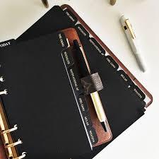 louis vuitton desk agenda black foiled dividers inside an louis vuitton desk agenda monogram