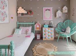 chambre fille vert chambre colorée pour fille vert menthe chambre filles et