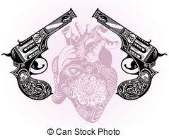 eps vector of guns and rose tattoo vector graphic csp13088545