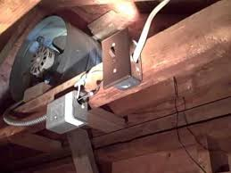 attic fan wiring issue found by murfreesboro home inspector wmv