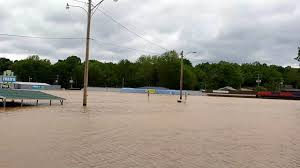 Flooding Missouri Map Waters Rise Beyond Flood Plain In Rural Mo Raising Questions