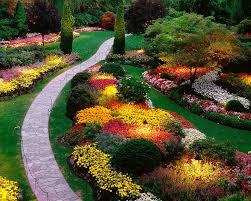 Backyard Flower Bed Designs Pretty Flower Beds Wonderful Flower Beds Design And Color