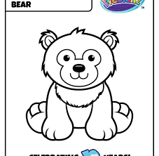 Webkinz Coloring Pictures  Simple Coloring Pages  Simple Coloring