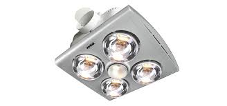 bathroom exhaust fan with light and heat lamp nutone 70 cfm