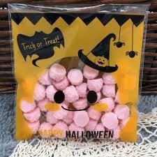 online get cheap halloween candy plastic bags aliexpress com