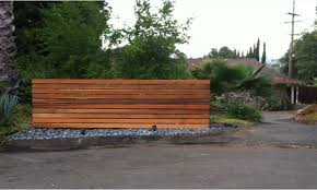 how to build a modern wood fence thesouvlakihouse com