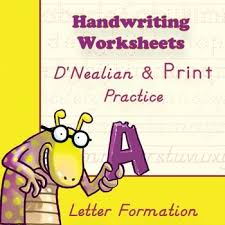 84 best d u0027nealian handwriting practice images on pinterest