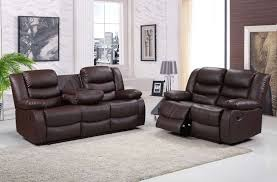4 Seat Reclining Sofa by Titan Leather Recliner Hi 5 Home Furniture