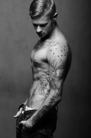 tattoos on biceps for guys 189 best cute boys with piercings and tattoos images on pinterest