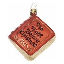Christmas Book Ornaments - bookish ornaments christmas ornament ornament and books