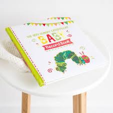 baby record book caterpillar baby record book