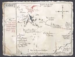 map hobbit thrór s map the one wiki to rule them all fandom powered by wikia