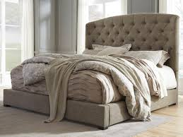 Tufted Sleigh Bed Bed Frames Wallpaper High Definition Upholstered King Sleigh Bed