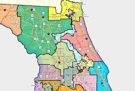 Map Of Florida With Counties by Florida House Releases Redistricting Lines Tuesday Mapping Out