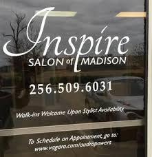 inspire salon of madison in madison al at vagaro com
