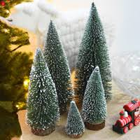 cheap mini wooden tree decorations free shipping mini