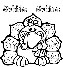 thanksgiving coloring pages gobble coloringstar