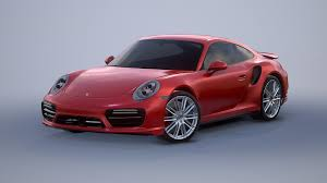 red porsche png porsche 911 turbo s 2017 3d model