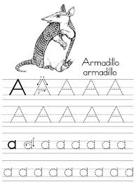 alphabet tracing pages 2014 printable kiddo shelter