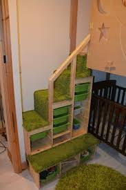 Plans For Bunk Beds With Storage Stairs by Bunk Bed With Stairs Plans Free Ana White Build A Sweet Pea