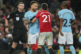 utd vs city tunnel bust up furious united blame city for